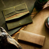 【購入者特典付き】No.12 Long Wallet【OLIVE DRAB&SAND STONE】