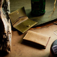 【購入者特典付き】No.31 Minimum Wallet【OLIVE DRAB&SAND STONE】