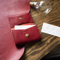 No.11 Card Case RED【在庫限り】