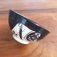 めし碗/黒織部