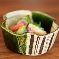 織部木瓜鉢