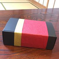 【ラッピング・包装サービス】¥3800以上・同一ご住所に配送で【完全無料サービス】N式ギフトBOX 黒& ラッピング(赤or青)梱包サービス(箱サイズ 290×180×95)