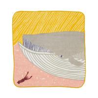ふわふわタオル ナガスクジラ ピンク