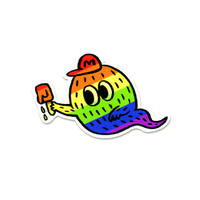 Rainbow Bake Mosh(RBM) /ステッカー / Yukihiro Tada