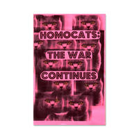 The War Continues zine  /  HOMOCATS