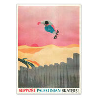 Support Palestinian Skaters! Poster