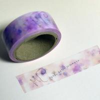 オリジナルマスキングテープ かたつむりと紫陽花(あじさい)
