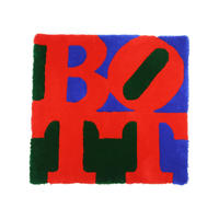 Square Logo Rug mat