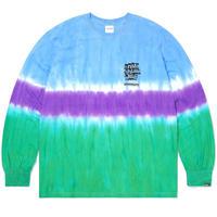 Tie Dye Stripe L/SL Top