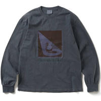 Cocktail L/S Tee Charcoal