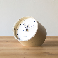 "Landscape Products ""Desk Clock / デスククロック(WH,NV)"""