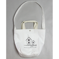 "MOUNTAIN RESEARCH ""Shoulder Tote / ショルダートート(WHITE)"""