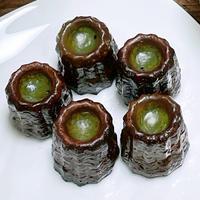 日本茶専門店の「抹茶カヌレ」5個入り