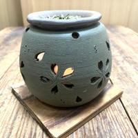 【茶香炉 石龍緑桜】