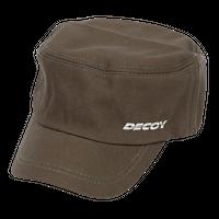 DECOY ワークキャップ 【DA-16】<オリーブ>