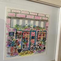 パリの花屋 原画 (SOLDOUT)
