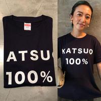 かつお100% Tシャツ Navy