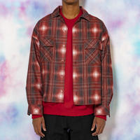 ORIGINAL OMBRE CHECK SHIRTS(RED)