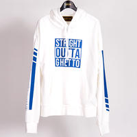 STRIGHT OUTTA SWEAT PULLOVER(WHITE)