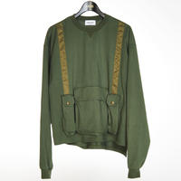 BATTLE VEST  LONG SLEEVE TEE(KHAKI)