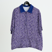 PEACOCK PAISLEY POLO SHIRTS