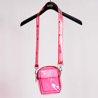 CLEAR SHOULDER BAG(RED)