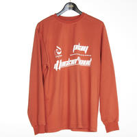 A-CHAHIN'  LONG TEE SHIRTS(ORANGE)
