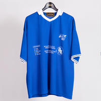 FIRE EMBROIDERY FOOTBALL SHIRTS(BLUE)