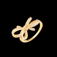 ∞ring ribbon gold