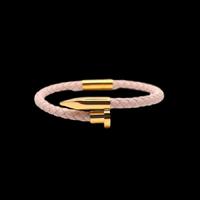 Lien series  bracelet pink