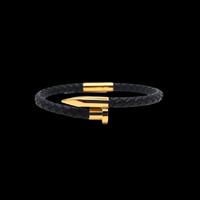 Lien series  bracelet black