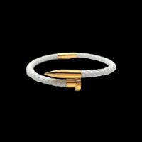 Lien series  bracelet white