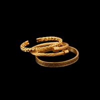 3SET GOLD BRACELET