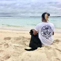 T-shirt/宮古島SAVE THE ANIMALSロゴT/White