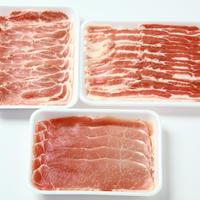 うつくしまエゴマ豚 食べ比べパック1,500g