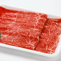 福島牛(黒毛和牛) もも肉スライス450g