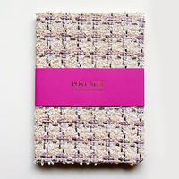 FABRIC NOTEBOOKS LUXE  Keira