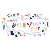 バレンタインギフト メッセージカード VALENTINE'S DAY