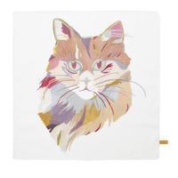 Handkerchief    'The Cat '         ハンカチ ネコ