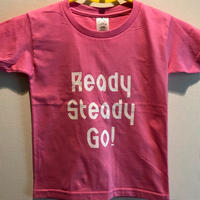 YT002 YOUTH サイズTシャツ AZALEA PINK/WHITE