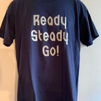 LT004-3  ロゴTシャツ NAVY/GRAY