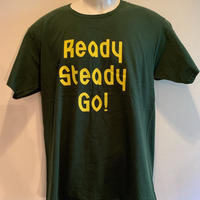 LT-007 ロゴTシャツ British Green/Yellow