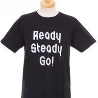 LT003 -4  ロゴTシャツ BLACK/MATT SILVER