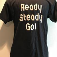 LT-003-5 ロゴTシャツ BLACK/GRAY グラデーション