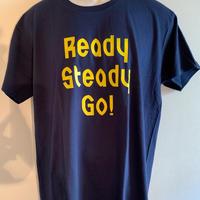 LT-004-4 ロゴTシャツ NAVY/YELLOW