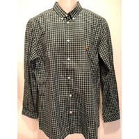 OL-13 FARAH/ファーラーIVYシャツ GREEN (M)
