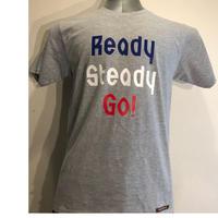 LT005-3  ロゴTシャツ GRAY/TRICOROLE