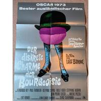 OP-038 「ブルジョワジーの密かな愉しみ(The Discreet Charme of the Bourgeoisie)」映画ポスター/ドイツ版オリジナル/1972/590mm×840mm