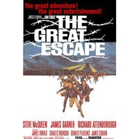 RP-002  「大脱走/The Great Escape」#映画ポスター/Reprint 430mm×278mm