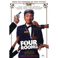 OP-012  フォー・ルームス(FOUR ROOMS)#映画ポスター/米国版オリジナル/1995/1040mm×685mm